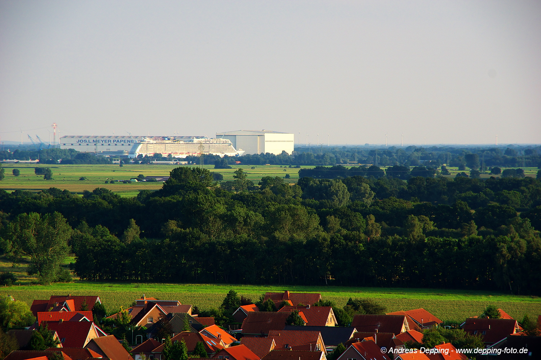 Ballonfahrt über Ostfriesland - August 2015